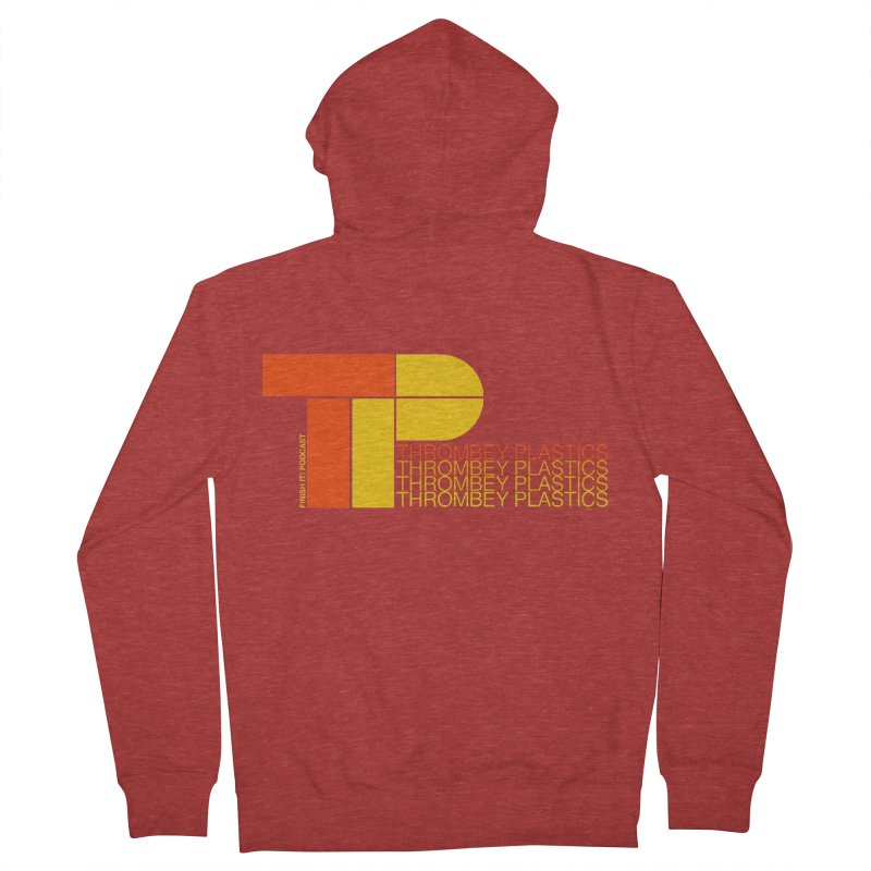 Thrombey Plastics Men's French Terry Zip-Up Hoody by Finish It! Podcast Merchzone