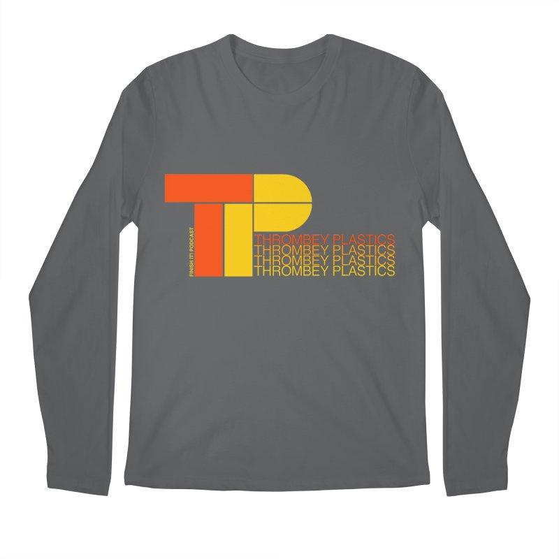 Thrombey Plastics Men's Regular Longsleeve T-Shirt by Finish It! Podcast Merchzone