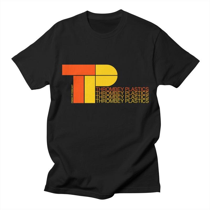 Thrombey Plastics Women's Regular Unisex T-Shirt by Finish It! Podcast Merchzone