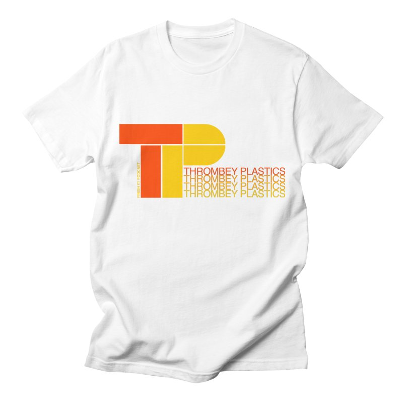 Thrombey Plastics Men's Regular T-Shirt by Finish It! Podcast Merchzone