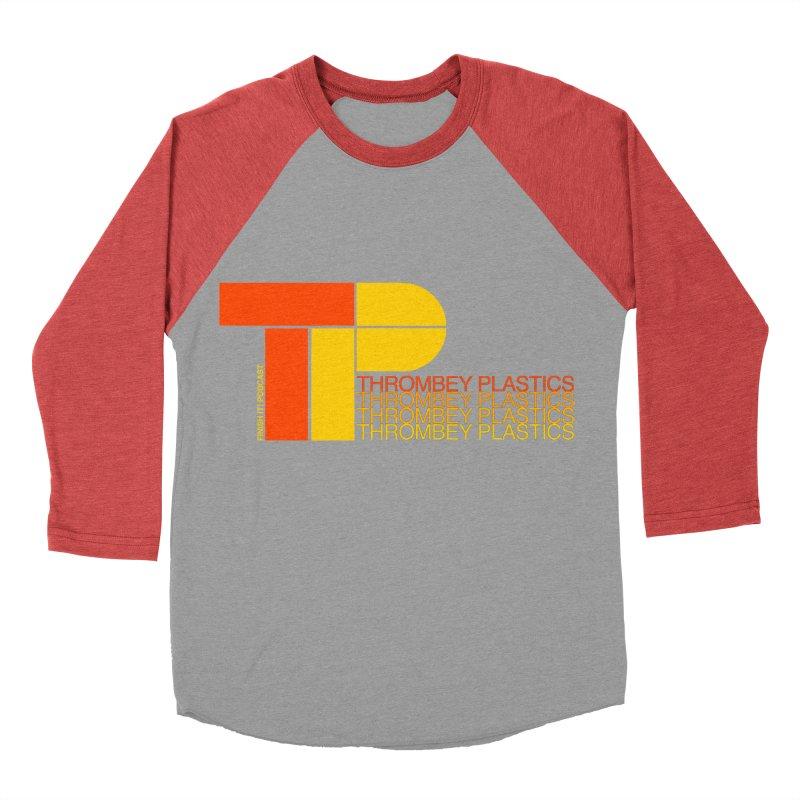 Thrombey Plastics Men's Baseball Triblend Longsleeve T-Shirt by Finish It! Podcast Merchzone