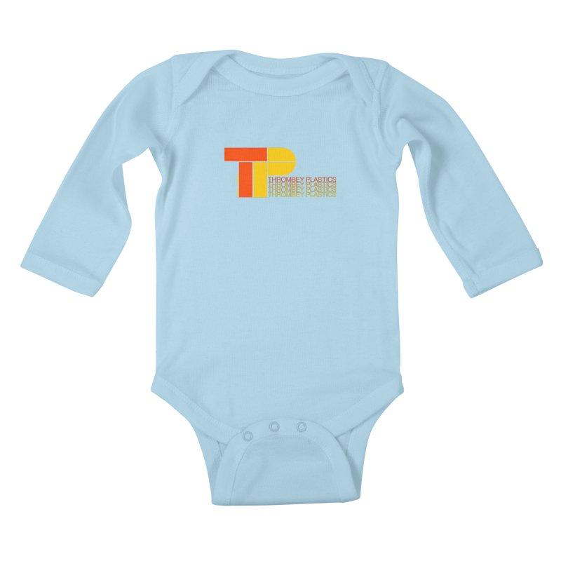 Thrombey Plastics Kids Baby Longsleeve Bodysuit by Finish It! Podcast Merchzone