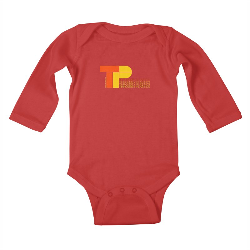 Thrombey Plastics Kids Baby Longsleeve Bodysuit by Finish It! Podcast Merchzone