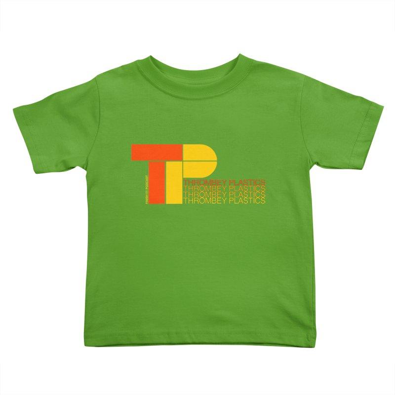 Thrombey Plastics Kids Toddler T-Shirt by Finish It! Podcast Merchzone