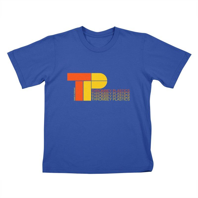 Thrombey Plastics Kids T-Shirt by Finish It! Podcast Merchzone