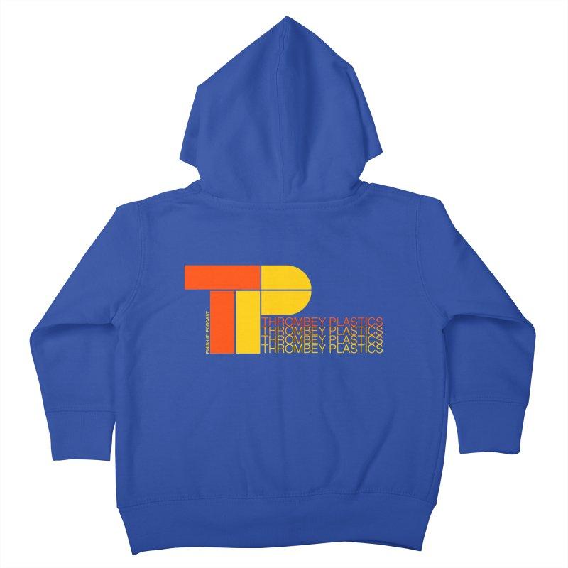 Thrombey Plastics Kids Toddler Zip-Up Hoody by Finish It! Podcast Merchzone