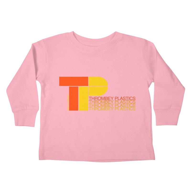 Thrombey Plastics Kids Toddler Longsleeve T-Shirt by Finish It! Podcast Merchzone
