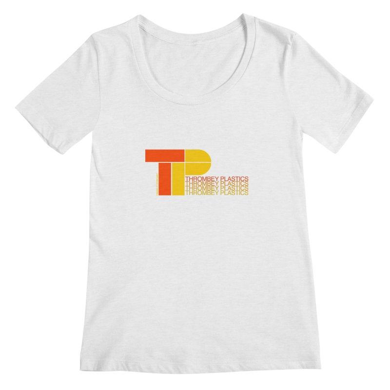 Thrombey Plastics Women's Regular Scoop Neck by Finish It! Podcast Merchzone