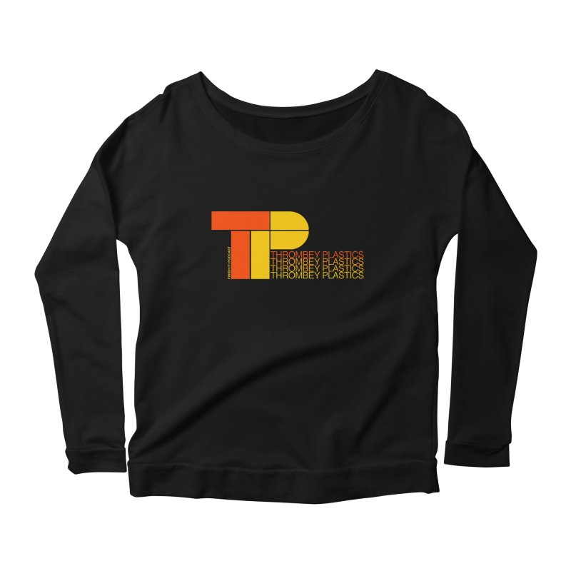 Thrombey Plastics Women's Scoop Neck Longsleeve T-Shirt by Finish It! Podcast Merchzone