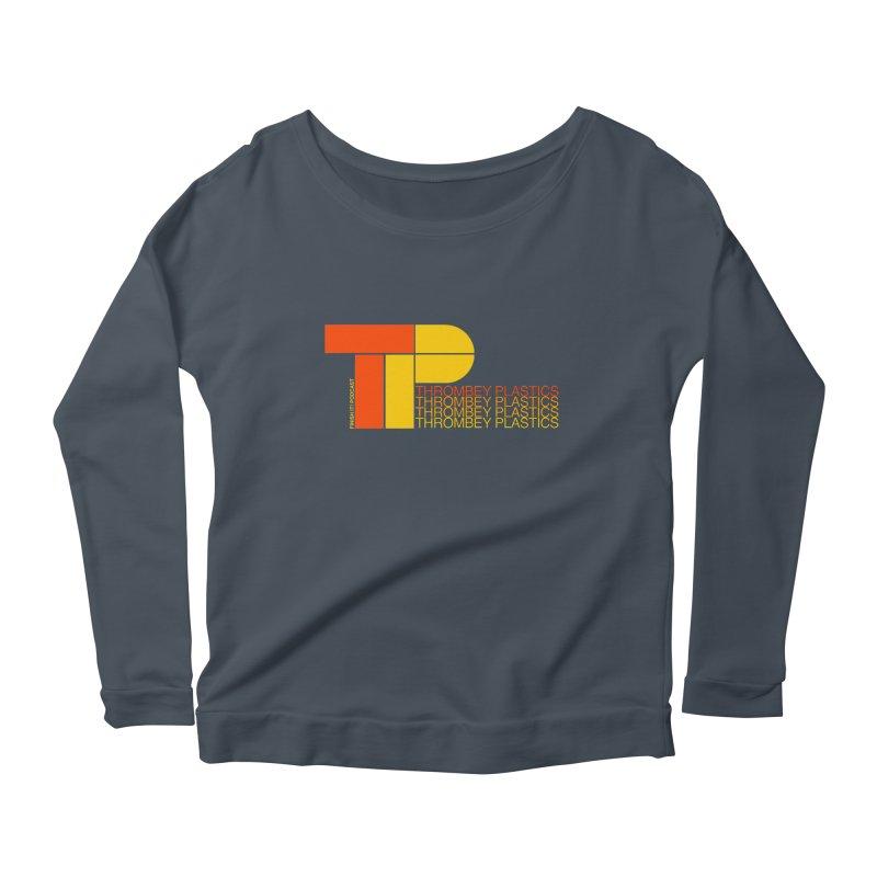 Thrombey Plastics Women's Scoop Neck Longsleeve T-Shirt by Finish It! Podcast Merchzone