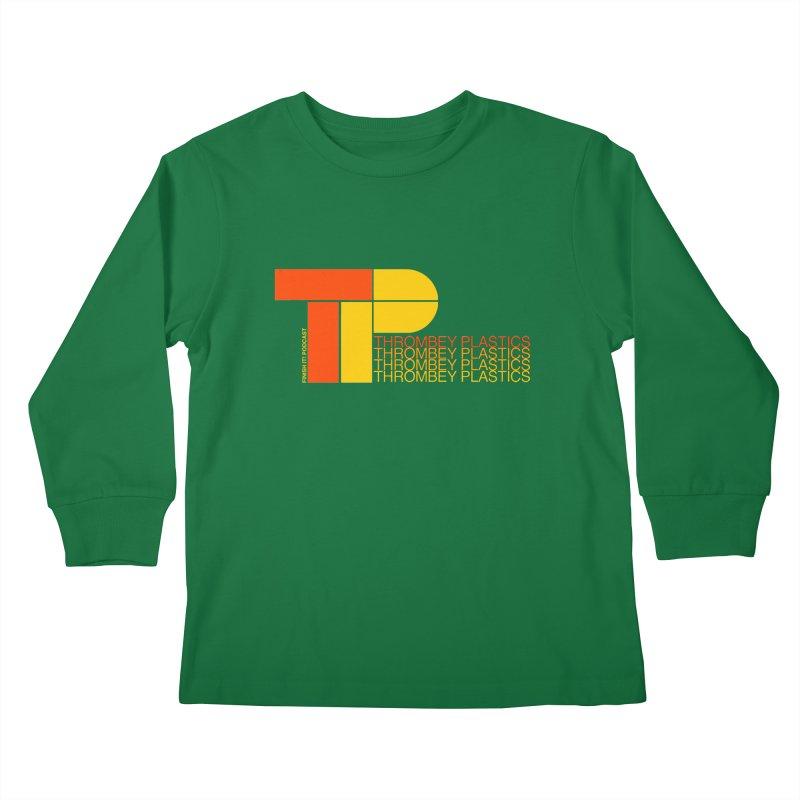 Thrombey Plastics Kids Longsleeve T-Shirt by Finish It! Podcast Merchzone