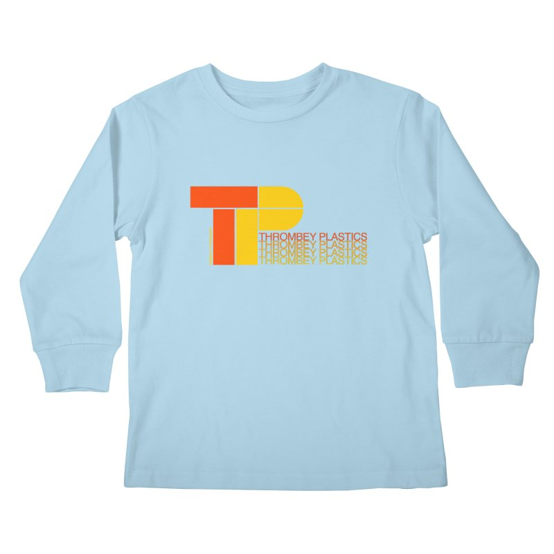 Thrombey Plastics Kids Longsleeve T-Shirt by Finish It! Podcast Merchzone
