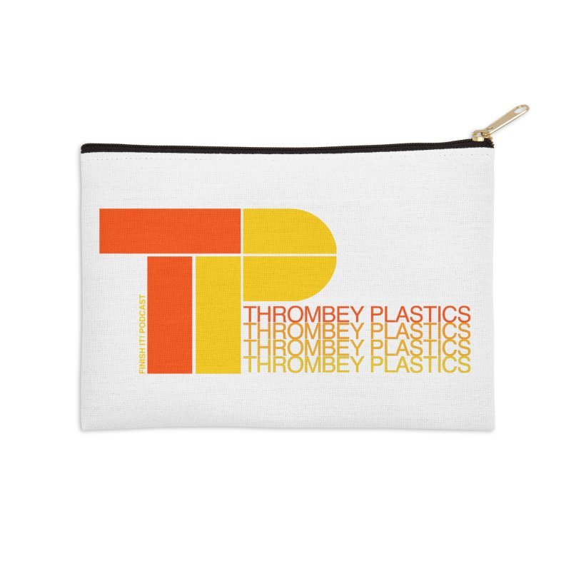 Thrombey Plastics Accessories Zip Pouch by Finish It! Podcast Merchzone