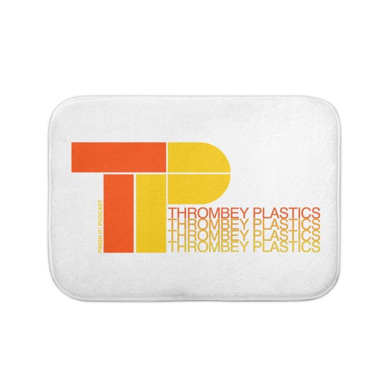 Thrombey Plastics Home Bath Mat by Finish It! Podcast Merchzone