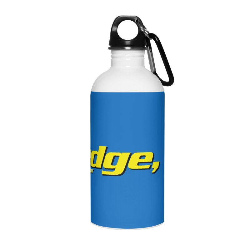 Mudge, P.I. Accessories Water Bottle by Finish It! Podcast Merchzone
