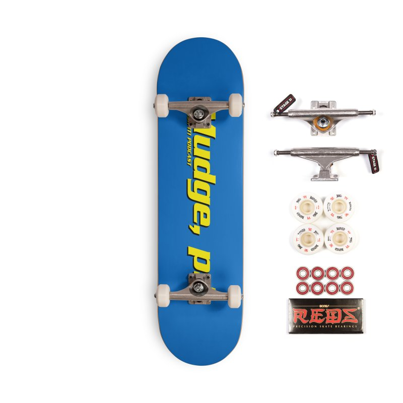 Mudge, P.I. Accessories Complete - Pro Skateboard by Finish It! Podcast Merchzone