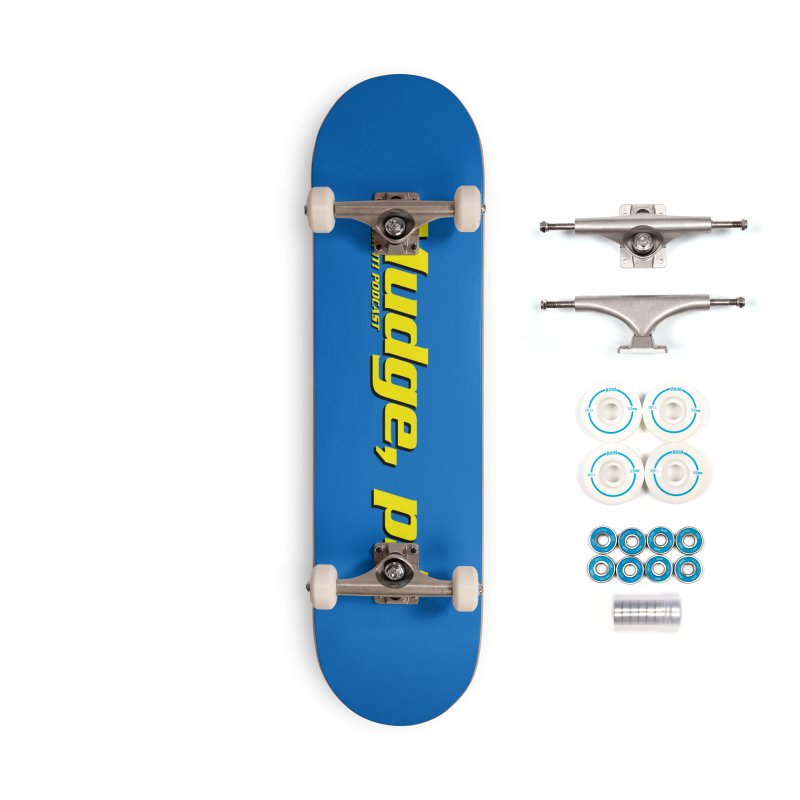 Mudge, P.I. Accessories Complete - Basic Skateboard by Finish It! Podcast Merchzone