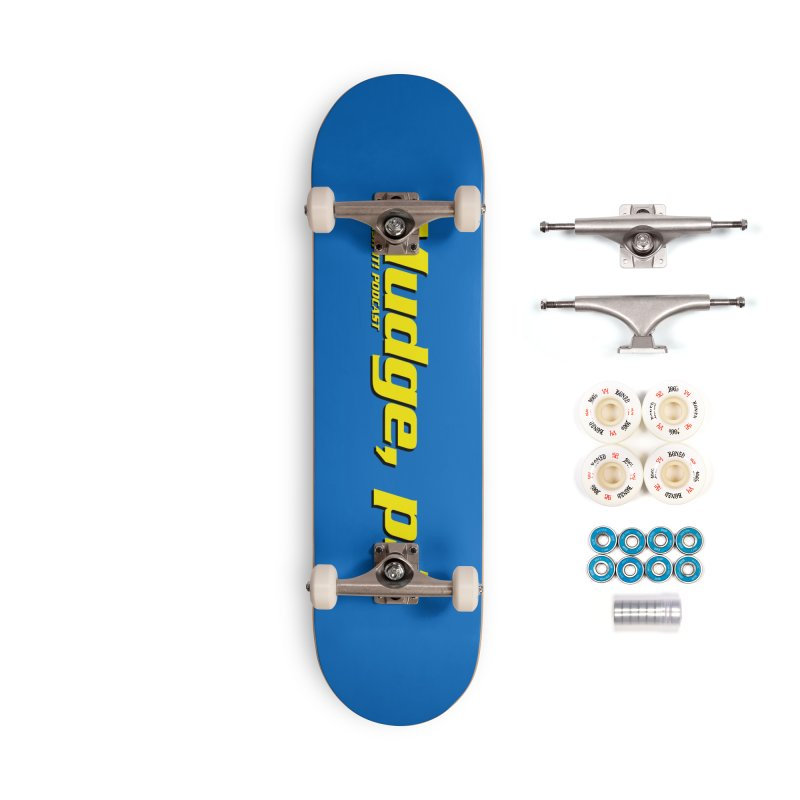Mudge, P.I. Accessories Complete - Premium Skateboard by Finish It! Podcast Merchzone