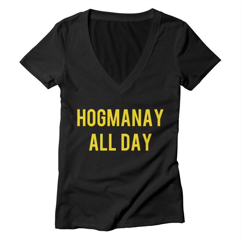 Hogmanay All Day Women's V-Neck by Finish It! Podcast Merchzone