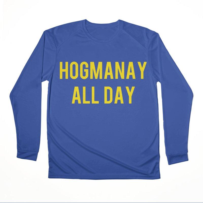 Hogmanay All Day Men's Performance Longsleeve T-Shirt by Finish It! Podcast Merchzone