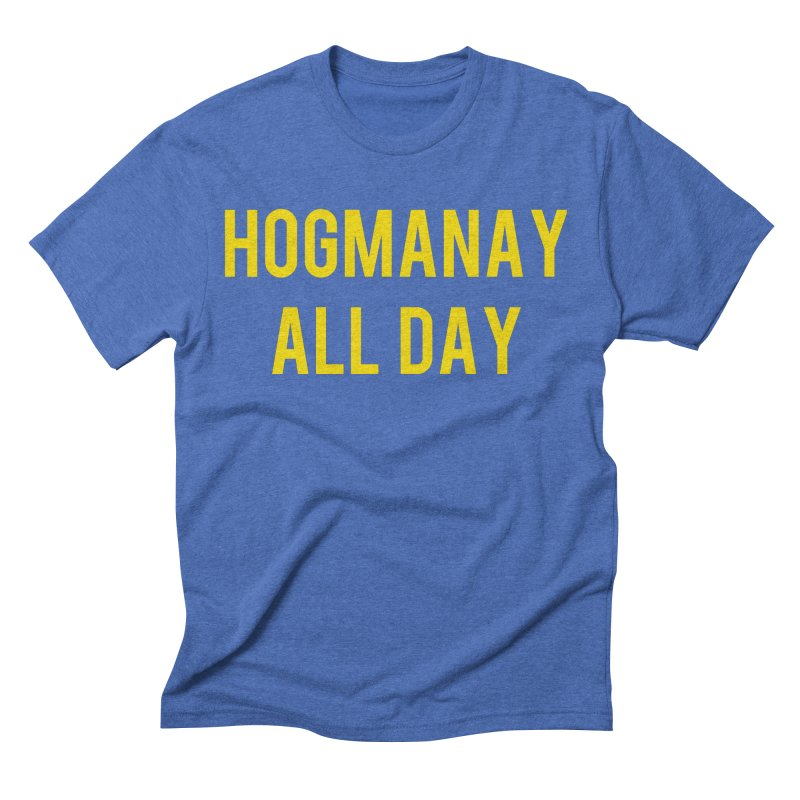 Hogmanay All Day Men's T-Shirt by Finish It! Podcast Merchzone