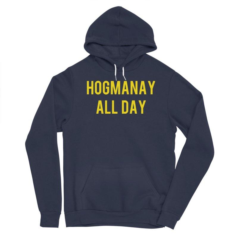 Hogmanay All Day Men's Sponge Fleece Pullover Hoody by Finish It! Podcast Merchzone