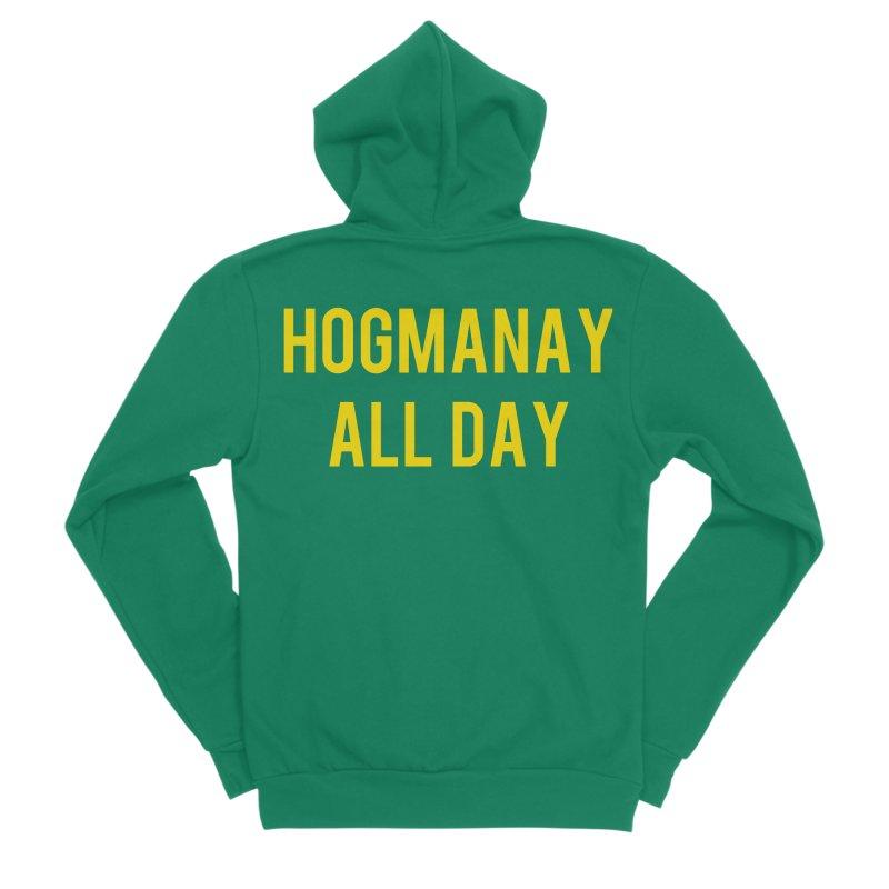 Hogmanay All Day Men's Sponge Fleece Zip-Up Hoody by Finish It! Podcast Merchzone