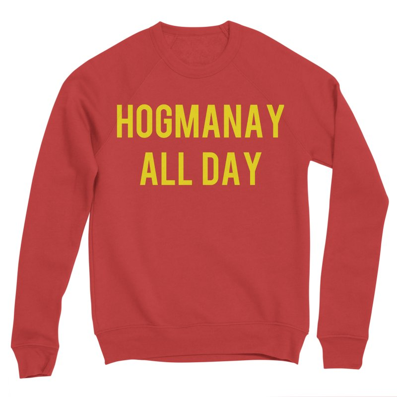 Hogmanay All Day Men's Sponge Fleece Sweatshirt by Finish It! Podcast Merchzone