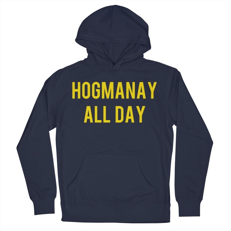 Hogmanay All Day Women's French Terry Pullover Hoody by Finish It! Podcast Merchzone
