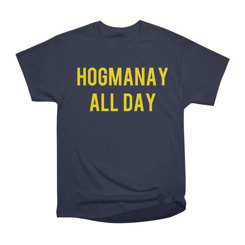 Hogmanay All Day Men's Heavyweight T-Shirt by Finish It! Podcast Merchzone
