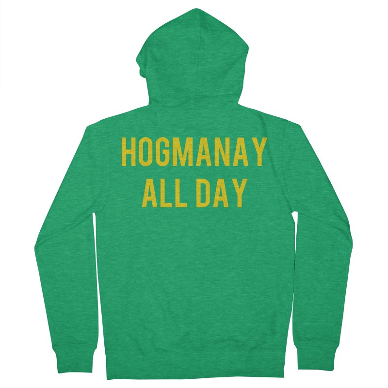 Hogmanay All Day Men's Zip-Up Hoody by Finish It! Podcast Merchzone