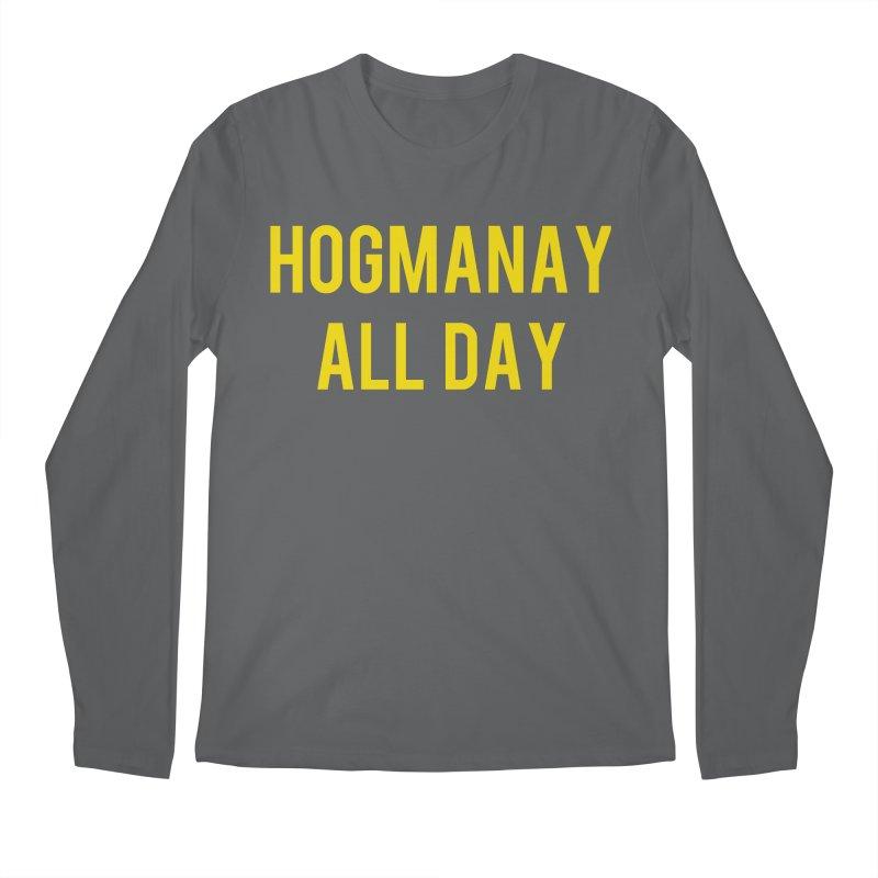 Hogmanay All Day Men's Longsleeve T-Shirt by Finish It! Podcast Merchzone