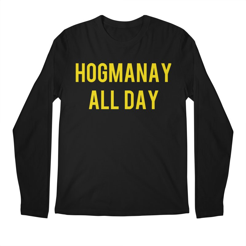 Hogmanay All Day Men's Regular Longsleeve T-Shirt by Finish It! Podcast Merchzone