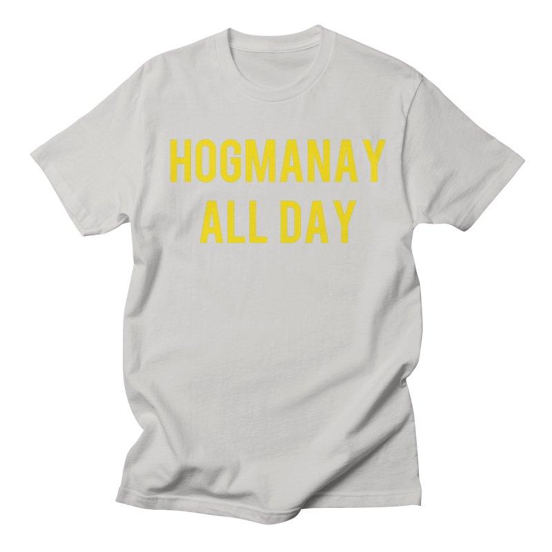 Hogmanay All Day Men's Regular T-Shirt by Finish It! Podcast Merchzone