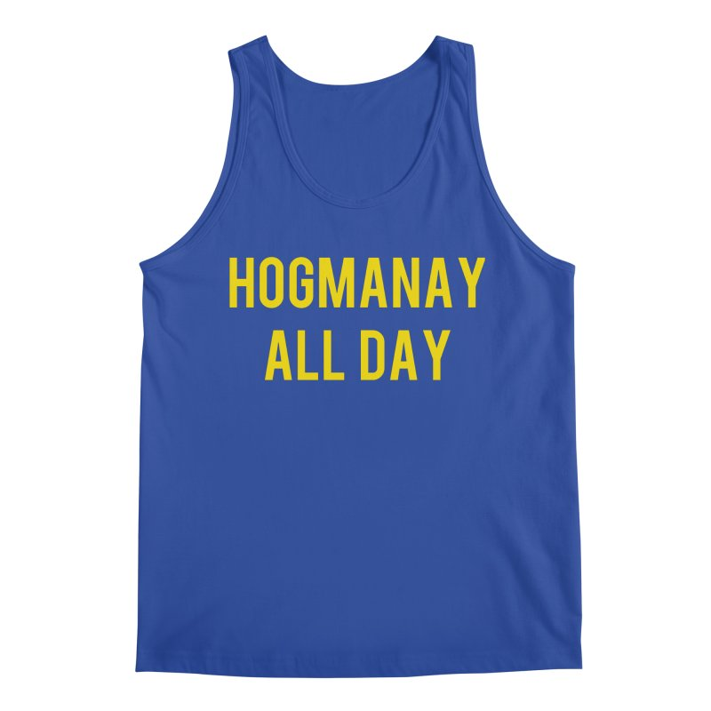 Hogmanay All Day Men's Regular Tank by Finish It! Podcast Merchzone