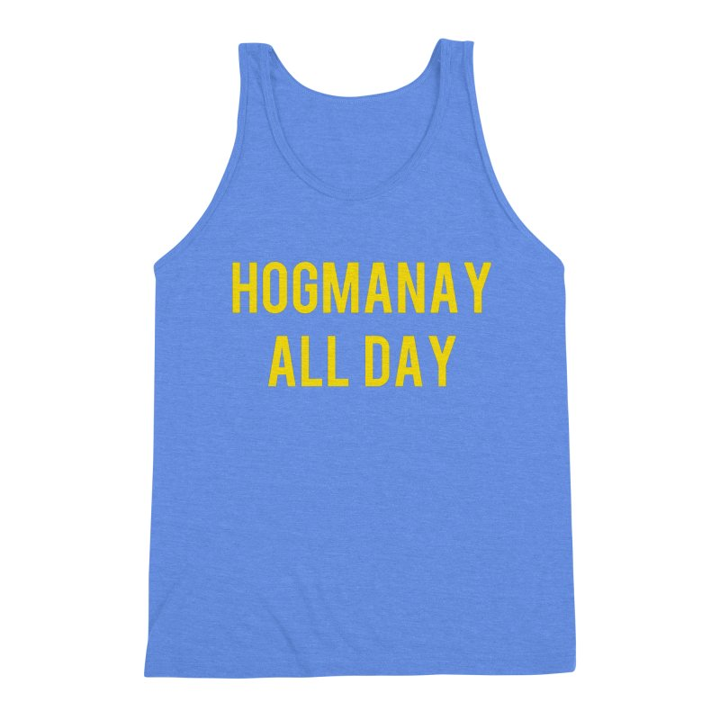 Hogmanay All Day Men's Triblend Tank by Finish It! Podcast Merchzone