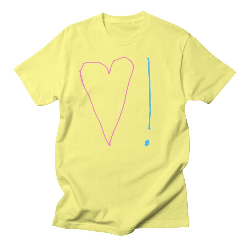 Love and Excitement Men's T-Shirt by Finish It! Podcast Merchzone