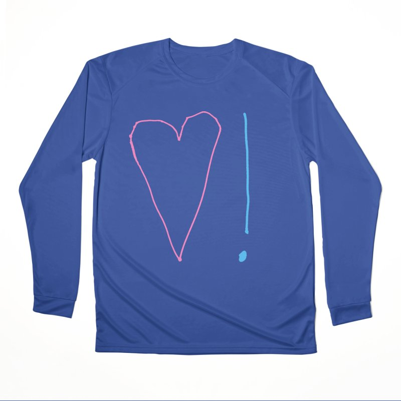 Love and Excitement Men's Performance Longsleeve T-Shirt by Finish It! Podcast Merchzone