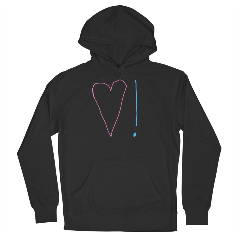 Love and Excitement Women's French Terry Pullover Hoody by Finish It! Podcast Merchzone