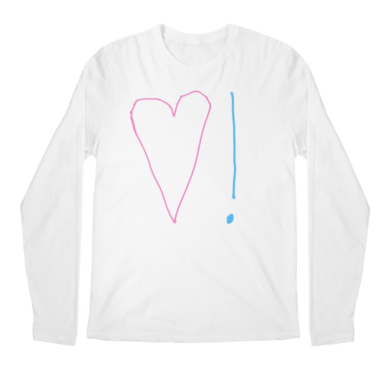 Love and Excitement Men's Regular Longsleeve T-Shirt by Finish It! Podcast Merchzone