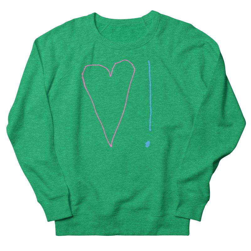 Love and Excitement Men's French Terry Sweatshirt by Finish It! Podcast Merchzone