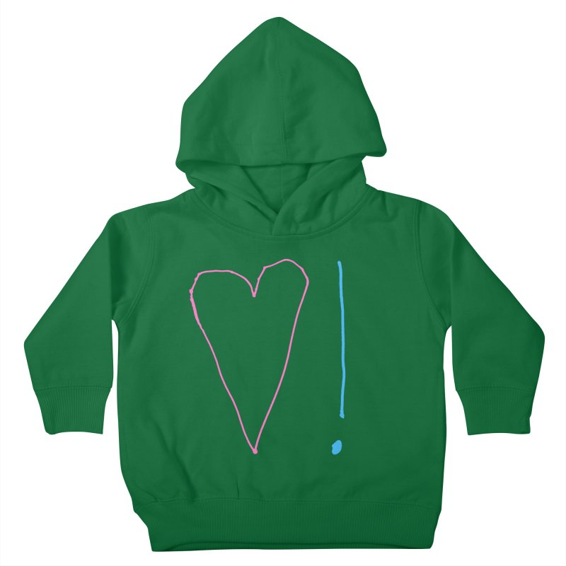 Love and Excitement Kids Toddler Pullover Hoody by Finish It! Podcast Merchzone