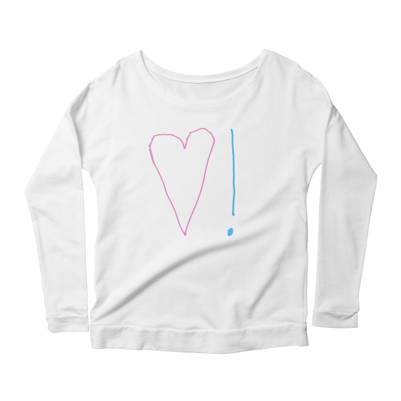 Love and Excitement Women's Scoop Neck Longsleeve T-Shirt by Finish It! Podcast Merchzone