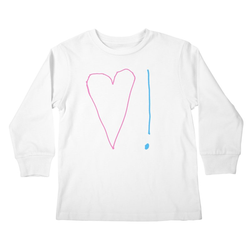 Love and Excitement Kids Longsleeve T-Shirt by Finish It! Podcast Merchzone