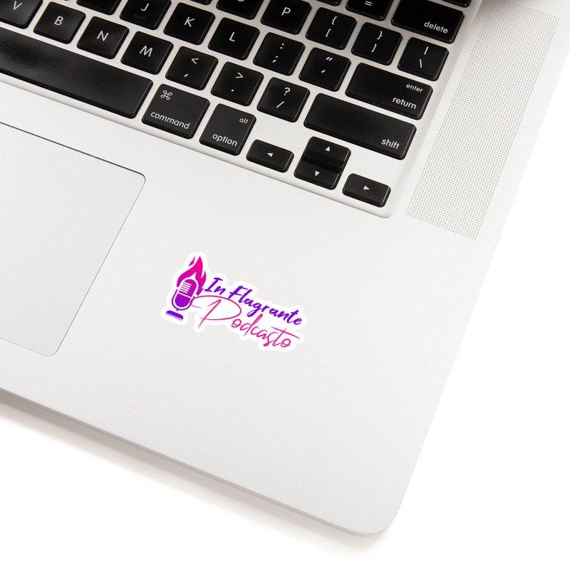 In Flagrante Podcasto Accessories Sticker by Finish It! Podcast Merchzone