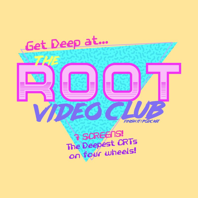 The Root Video Club Men's Tank by Finish It! Podcast Merchzone