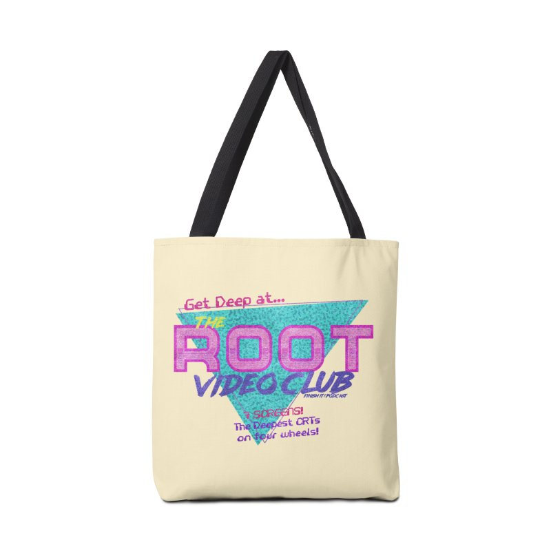 The Root Video Club Accessories Bag by Finish It! Podcast Merchzone