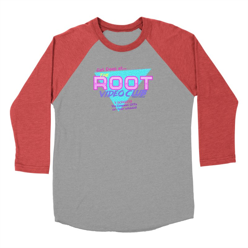 The Root Video Club Men's Longsleeve T-Shirt by Finish It! Podcast Merchzone
