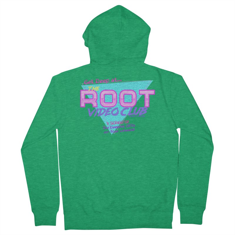 The Root Video Club Men's Zip-Up Hoody by Finish It! Podcast Merchzone
