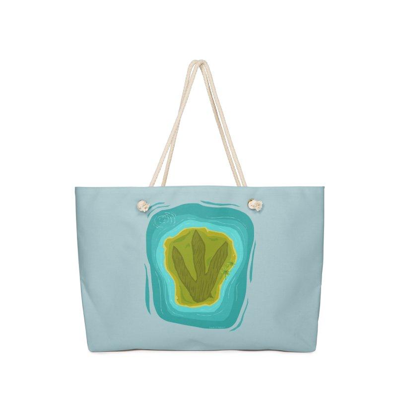 Dino Island Splashdown Accessories Bag by Finish It! Podcast Merchzone